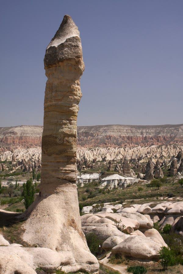 Roca de Cappadocia fotos de archivo libres de regalías