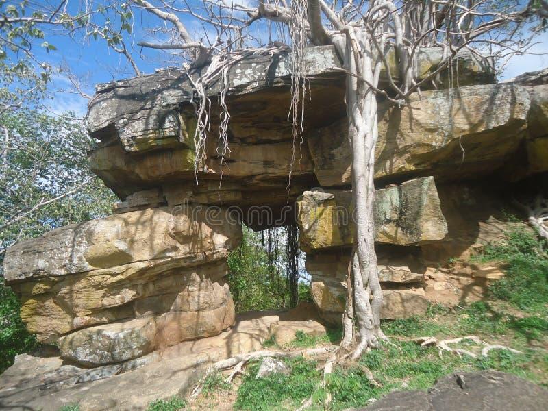 Roca de Gaint imagenes de archivo
