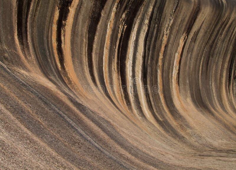 Roca de la onda fotografía de archivo