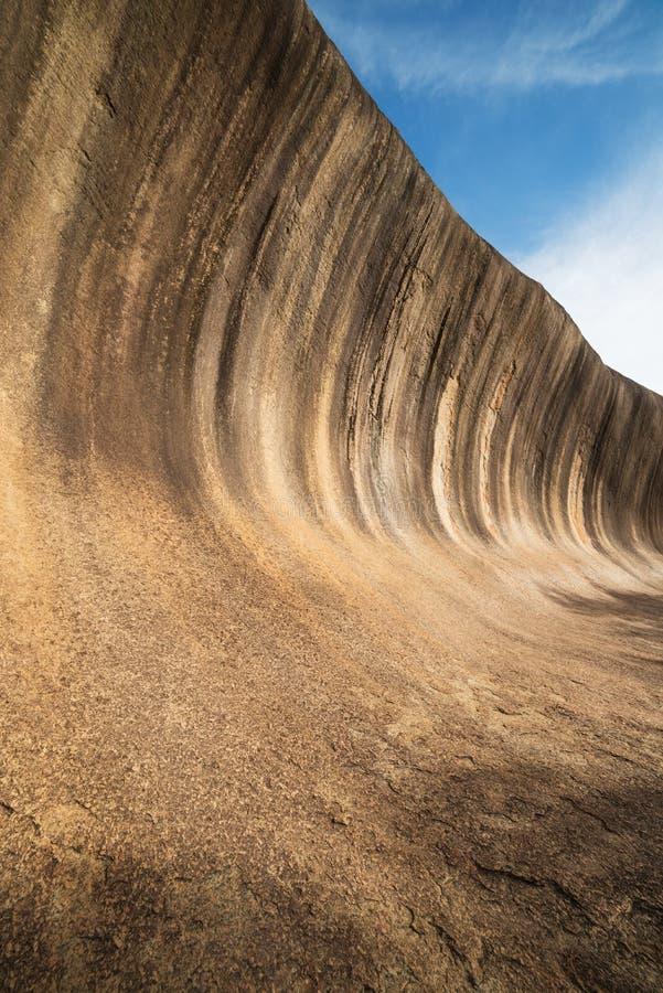 Roca de la onda en Australia occidental imagenes de archivo