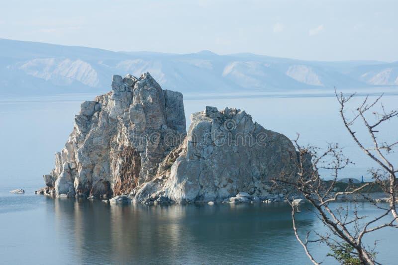 Roca de Shamanka foto de archivo libre de regalías