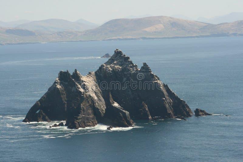 Roca de Skellig en Irlanda imagen de archivo libre de regalías