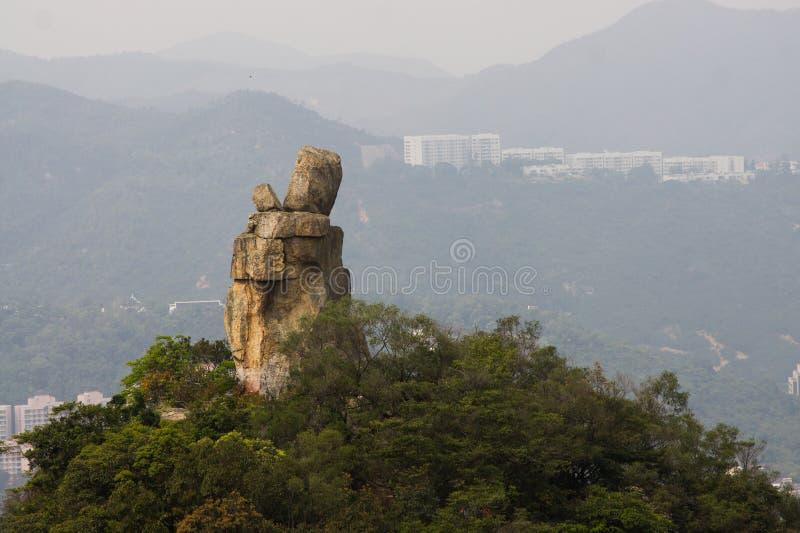 Roca del Amah de Hong Kong fotos de archivo