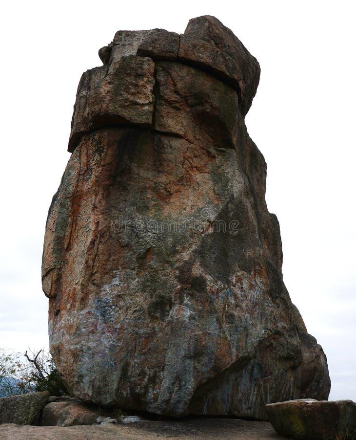 Roca del Amah en Hong Kong fotos de archivo