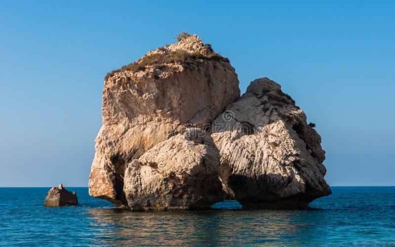 Roca del Aphrodite fotos de archivo libres de regalías