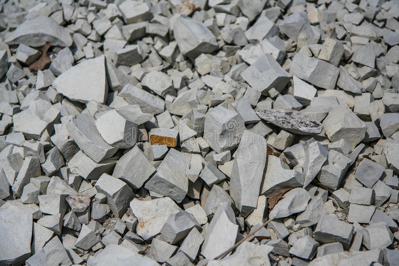 Roca del carbonato - marga foto de archivo libre de regalías
