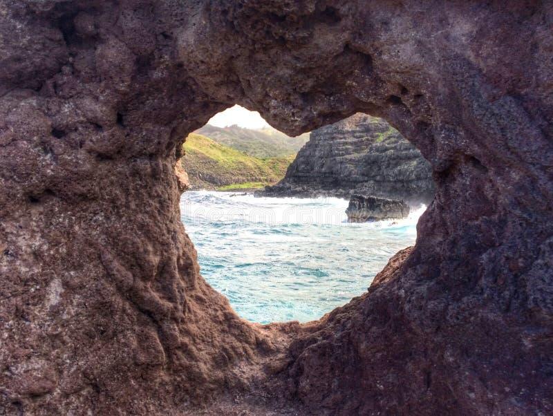 Roca del corazón foto de archivo libre de regalías
