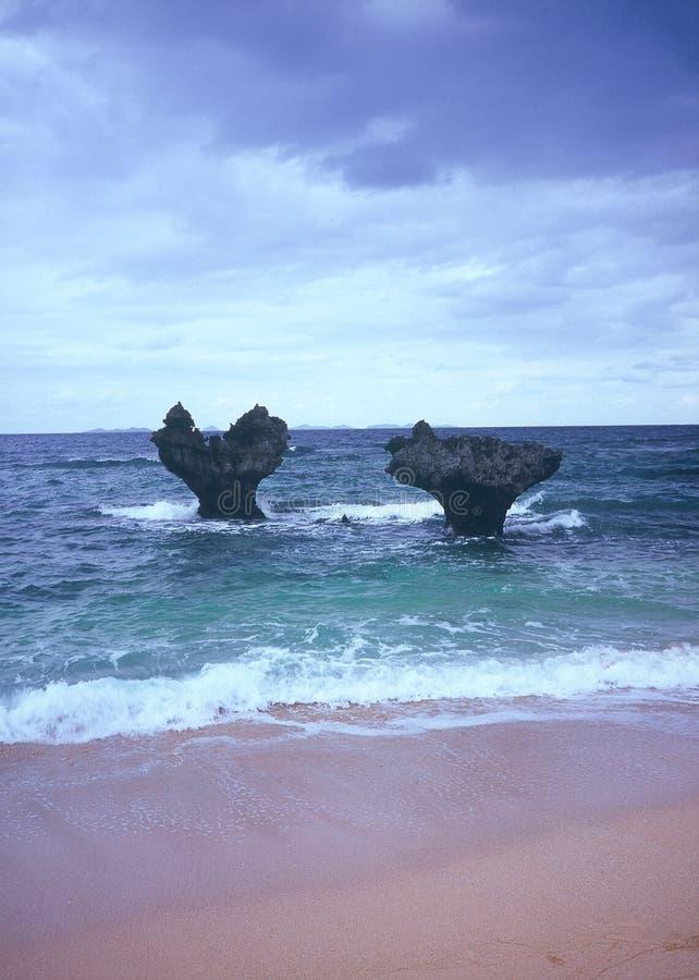 Roca del corazón de Kouri fotografía de archivo libre de regalías