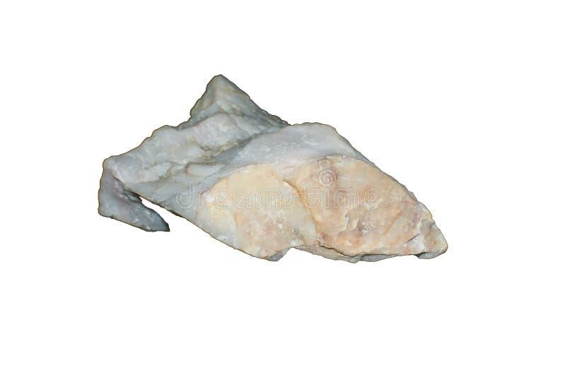 Roca del feldespato blanco imagen de archivo