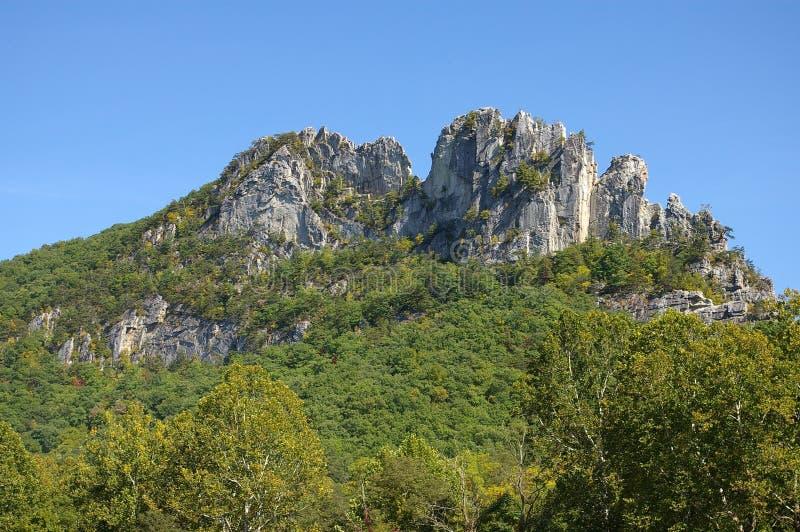 Roca del Seneca imágenes de archivo libres de regalías