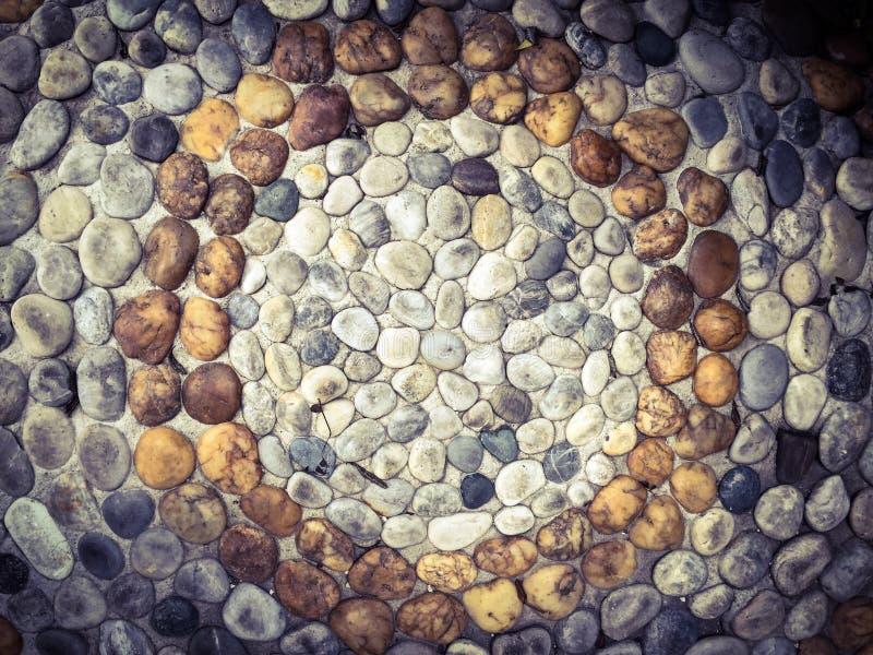 Roca en el piso imagenes de archivo