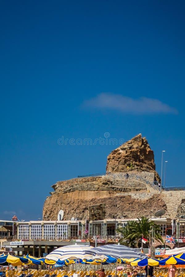 Roca en Puerto Rico foto de archivo