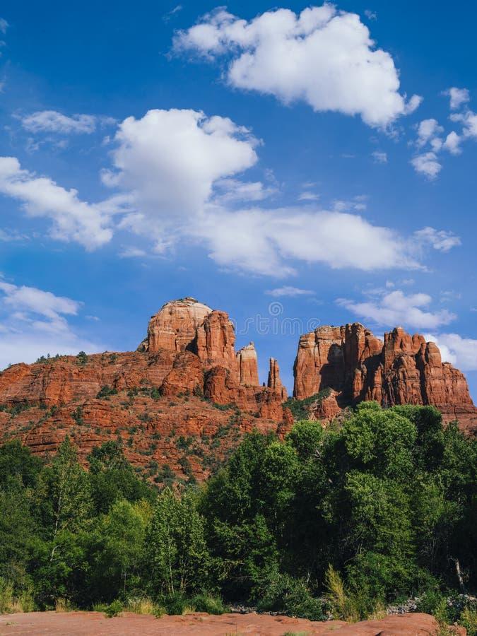 Roca en Sedona, Arizona de la catedral foto de archivo libre de regalías