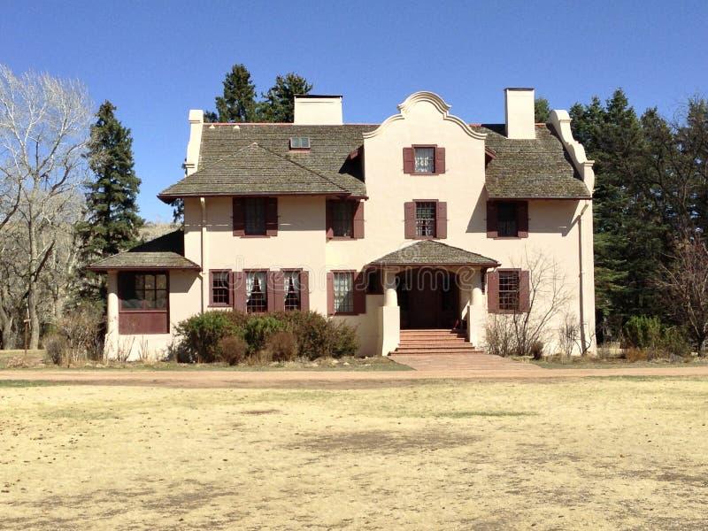 Roca Ledge Ranch House fotografía de archivo