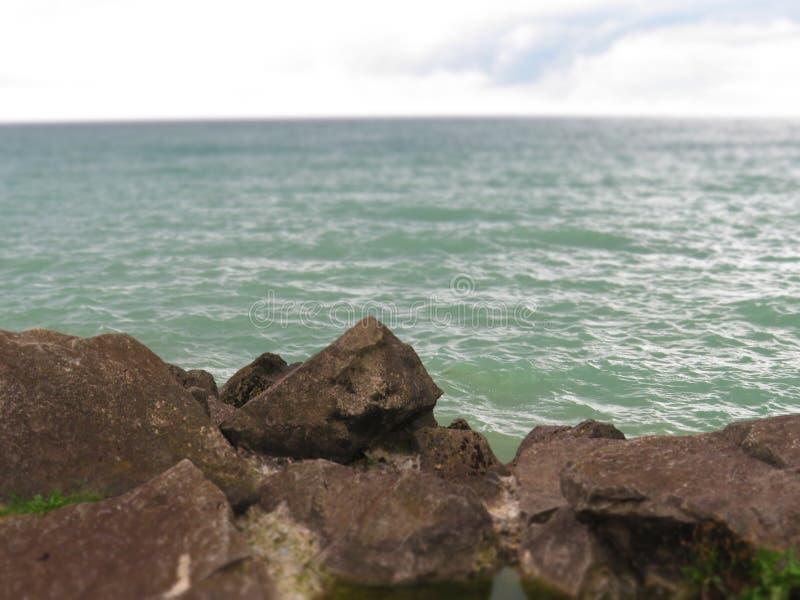 Roca puntiaguda, Maitland portuario, Ontario foto de archivo libre de regalías