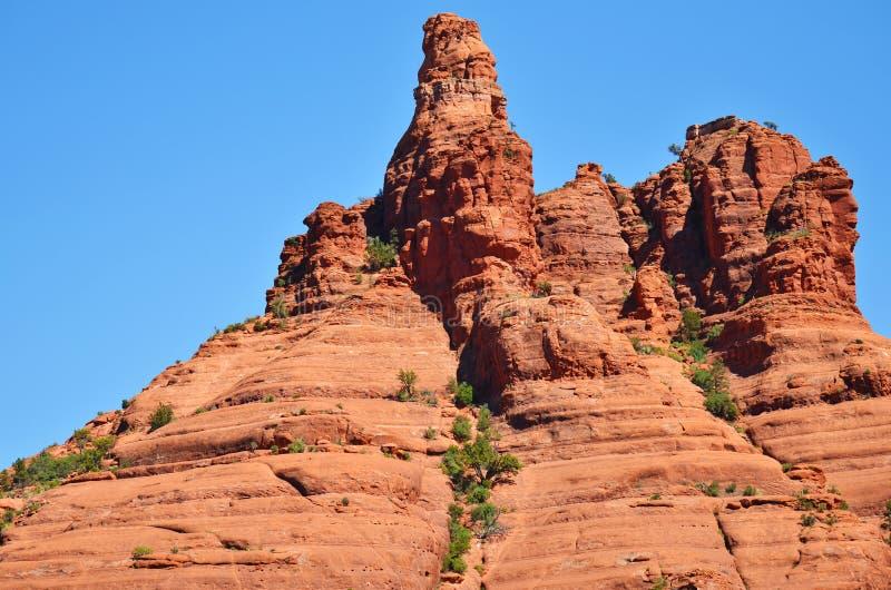 Roca roja en Sedona fotografía de archivo
