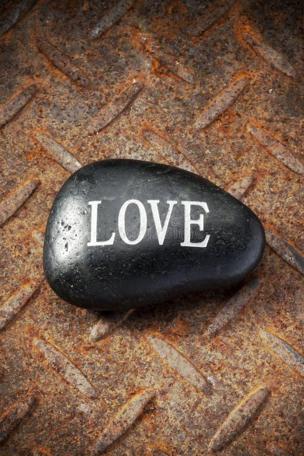 Roca Rusty Background del amor fotos de archivo