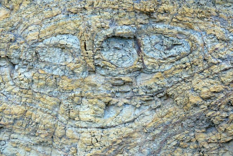 Roca volc?nica foto de archivo libre de regalías