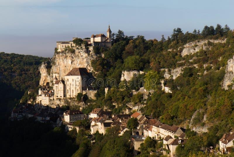 Download Rocamadour stock image. Image of building, horizontal - 21531875