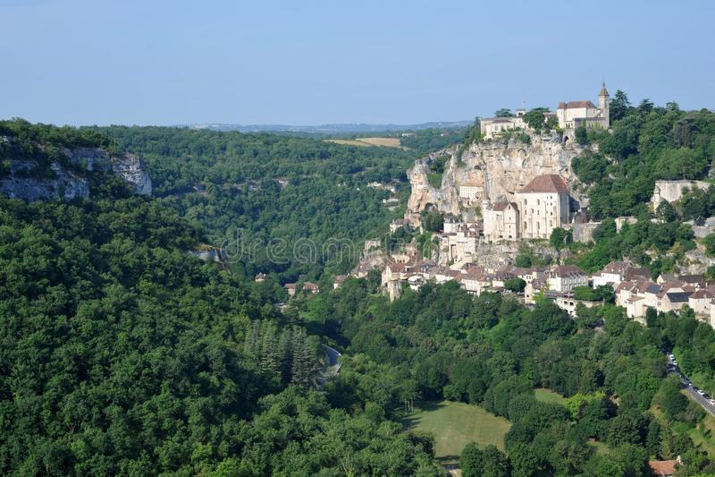 Rocamadour royaltyfri foto
