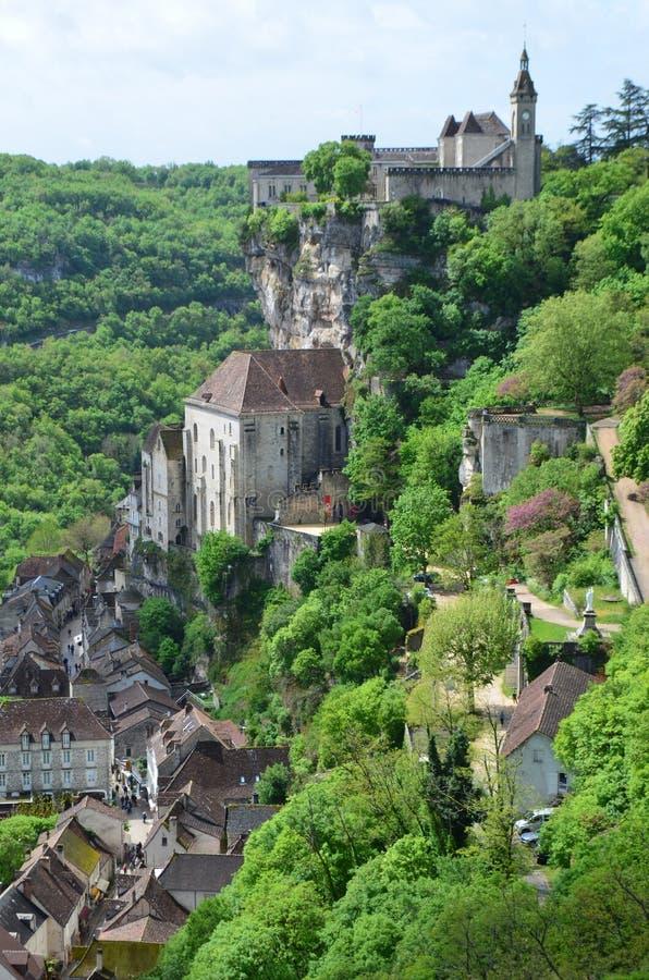 Rocamadour royaltyfri bild
