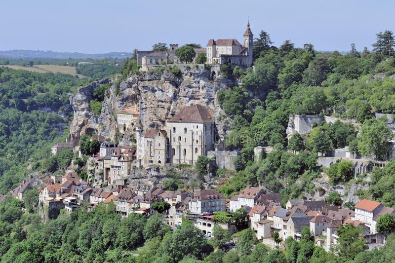 Rocamadour, Dordogne, Frankrijk stock fotografie