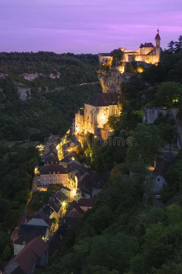 Rocamadour, France photographie stock libre de droits