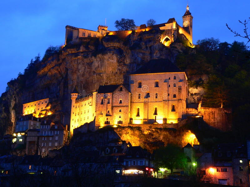 Rocamadour (France) photographie stock libre de droits