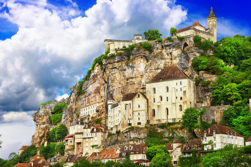 Rocamadour, France photo stock