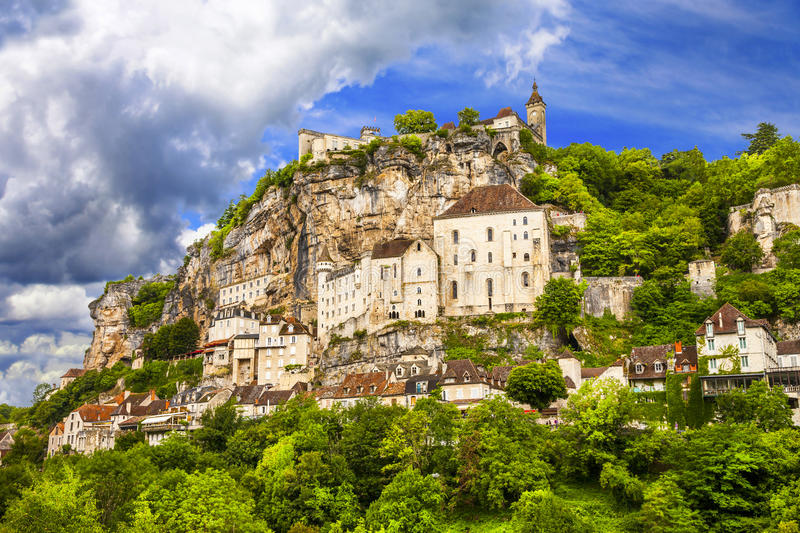 Rocamadour, France images libres de droits