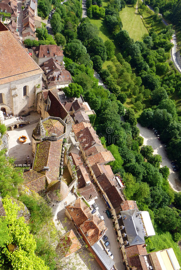 Download Rocamadour, France - Aerial View Stock Photo - Image: 32429630