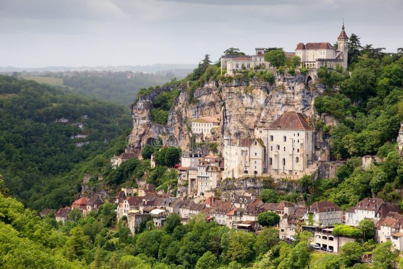 Rocamadour Francia immagine stock libera da diritti