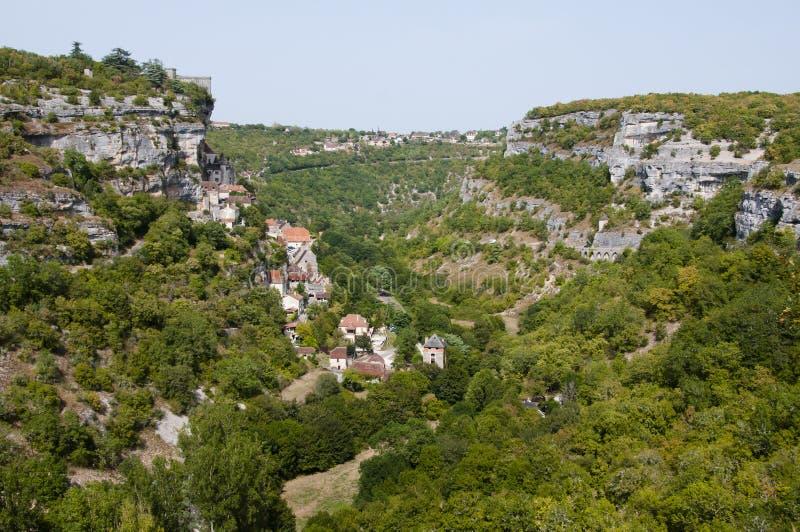 Rocamadour, Francja - obraz royalty free