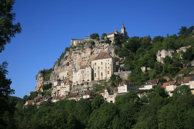 Rocamadour Frankrijk stock fotografie
