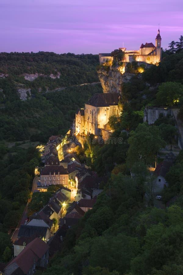 Rocamadour Frankrike royaltyfri fotografi