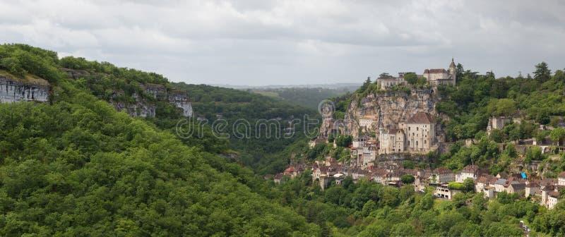 Rocamadour Frankrike royaltyfri bild