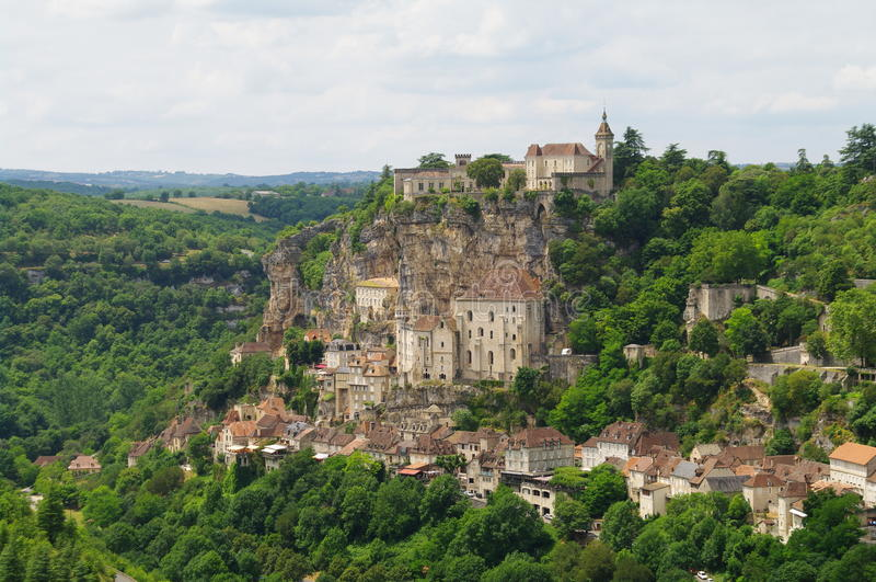 Download Rocamadour Medieval Pilgrim Town Stock Photo - Image: 10712530