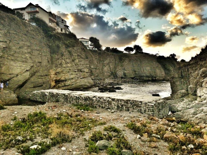 Rocas, Ahtopol, Bulgaria foto de archivo libre de regalías