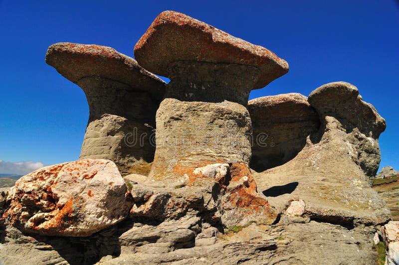 Rocas de Babele imagen de archivo