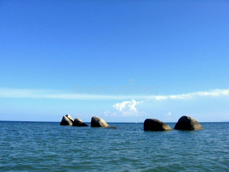 ¡Rocas de la KOH-Samui! fotografía de archivo