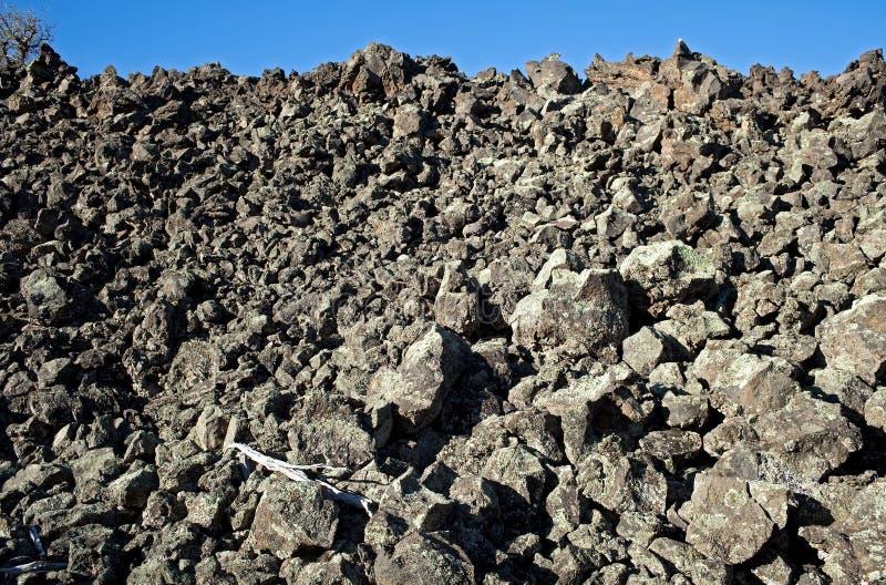 Rocas de la lava fotos de archivo
