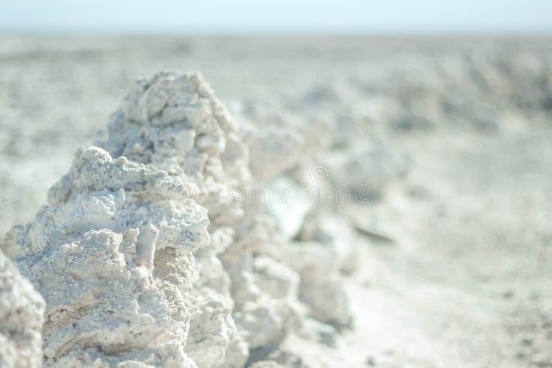Rocas de la sal foto de archivo libre de regalías