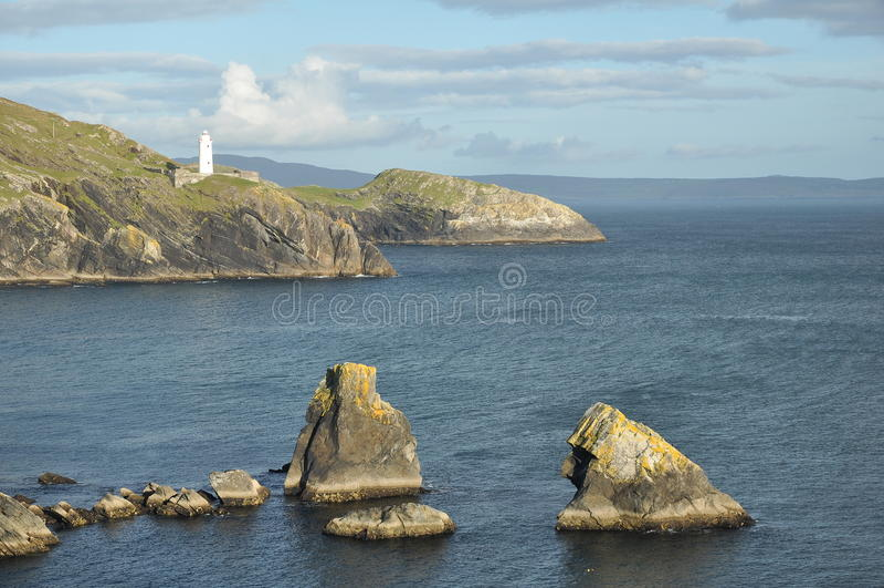 Rocas de los gaiteros, Irlanda fotografía de archivo