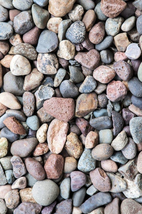 Rocas de muchos colores fotografía de archivo