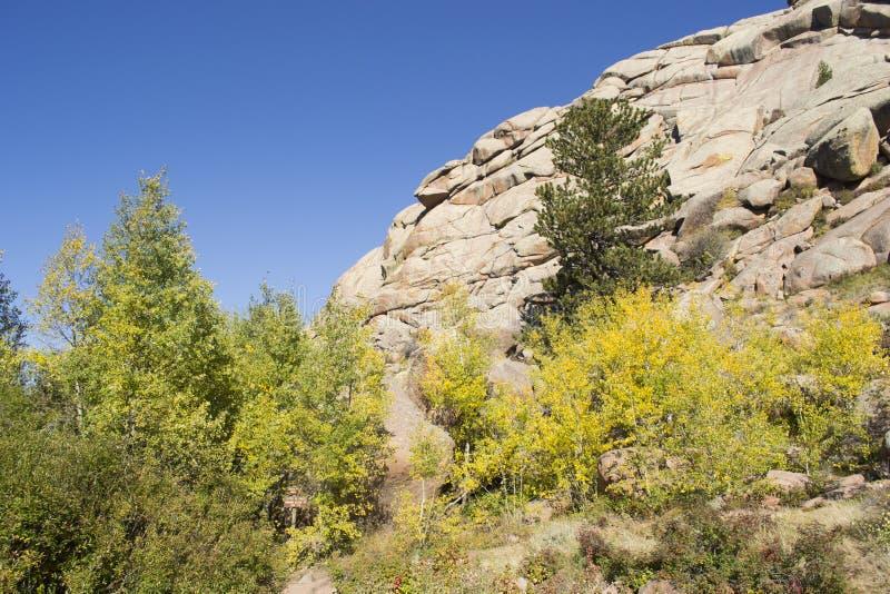 Rocas de Vedauwoo foto de archivo