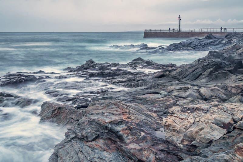 Rocas del agua imagen de archivo libre de regalías