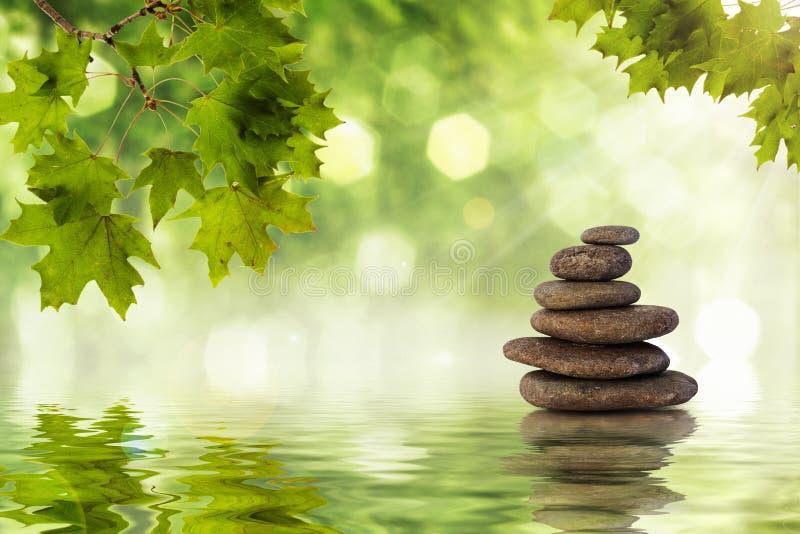 Rocas del zen fotos de archivo