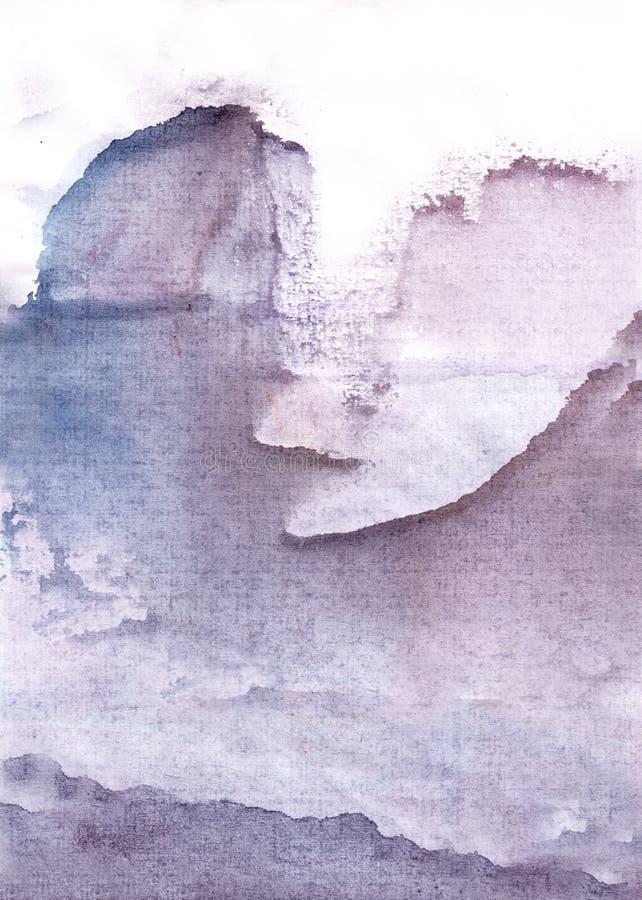 Rocas e icebergs ilustración del vector