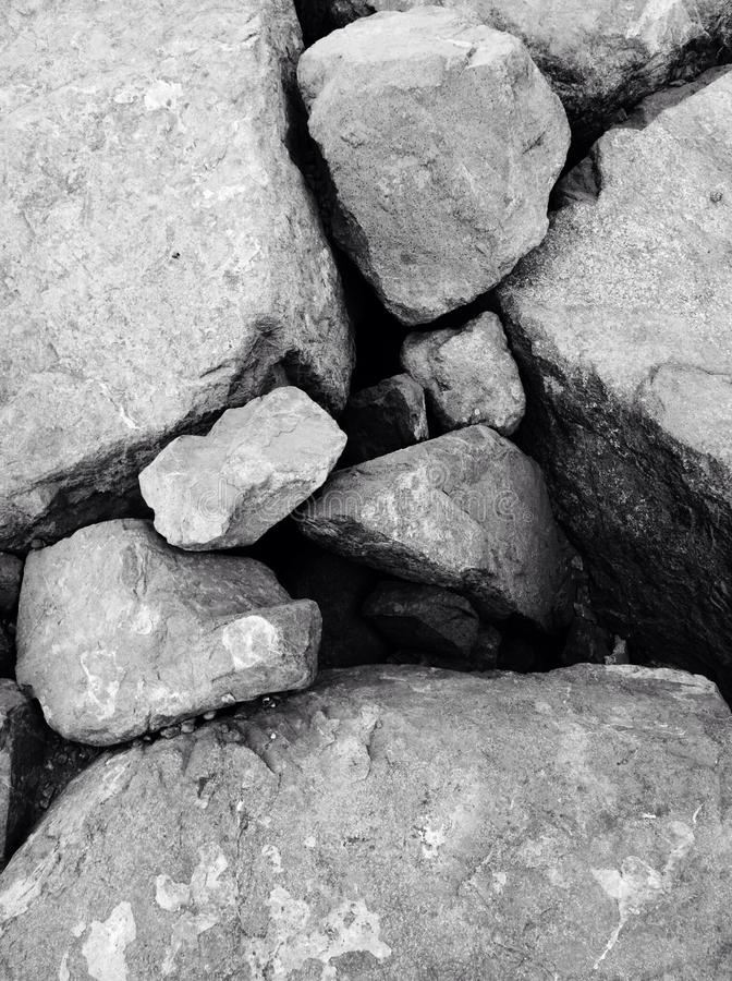 Rocas en Abu Dhabi imagenes de archivo