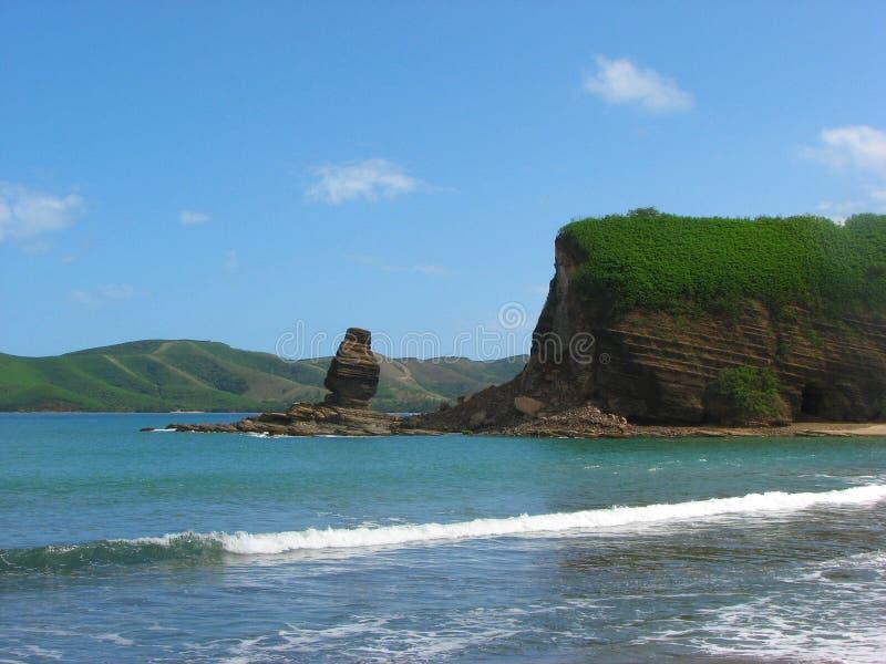 Rocas en Bourail, Nueva Caledonia fotografía de archivo
